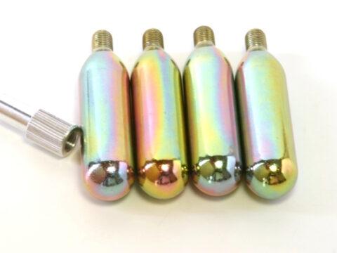 Kit 4 Botellas de aire comprimido + ADAPTADOR