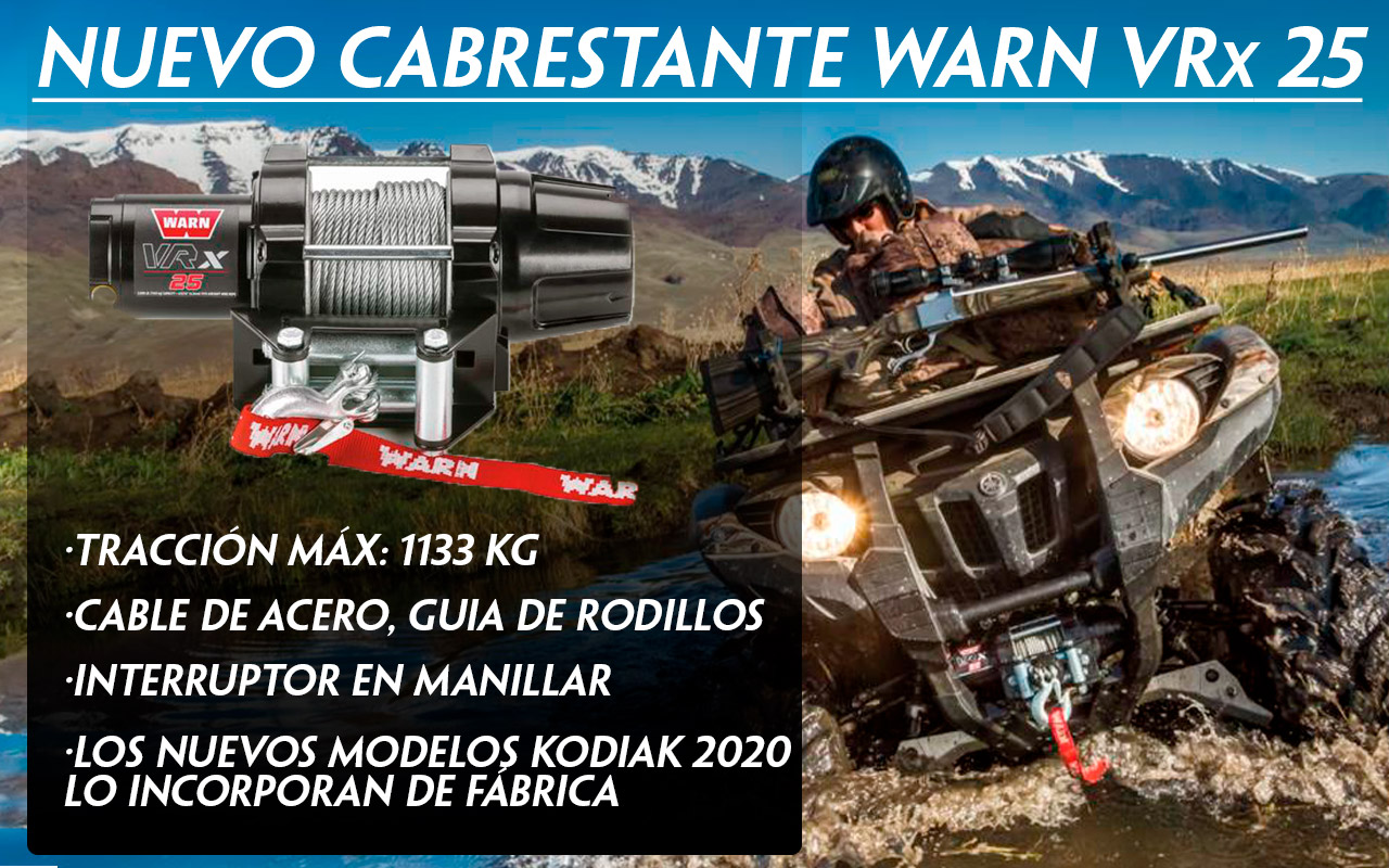 CABRESTANTE WARN VRX 25