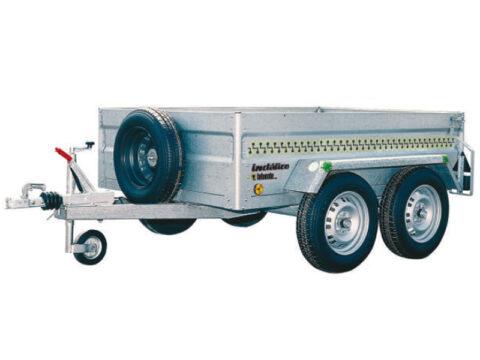 Remolque Indálico 2.0 - 2 ejes con freno de inercia para ATV (homologado)